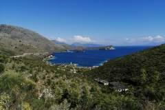Küste von Porto Palermo