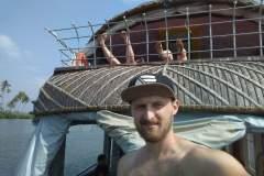 Hausboot in Alleppey