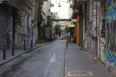 Gemütliches Gässchen in Athen