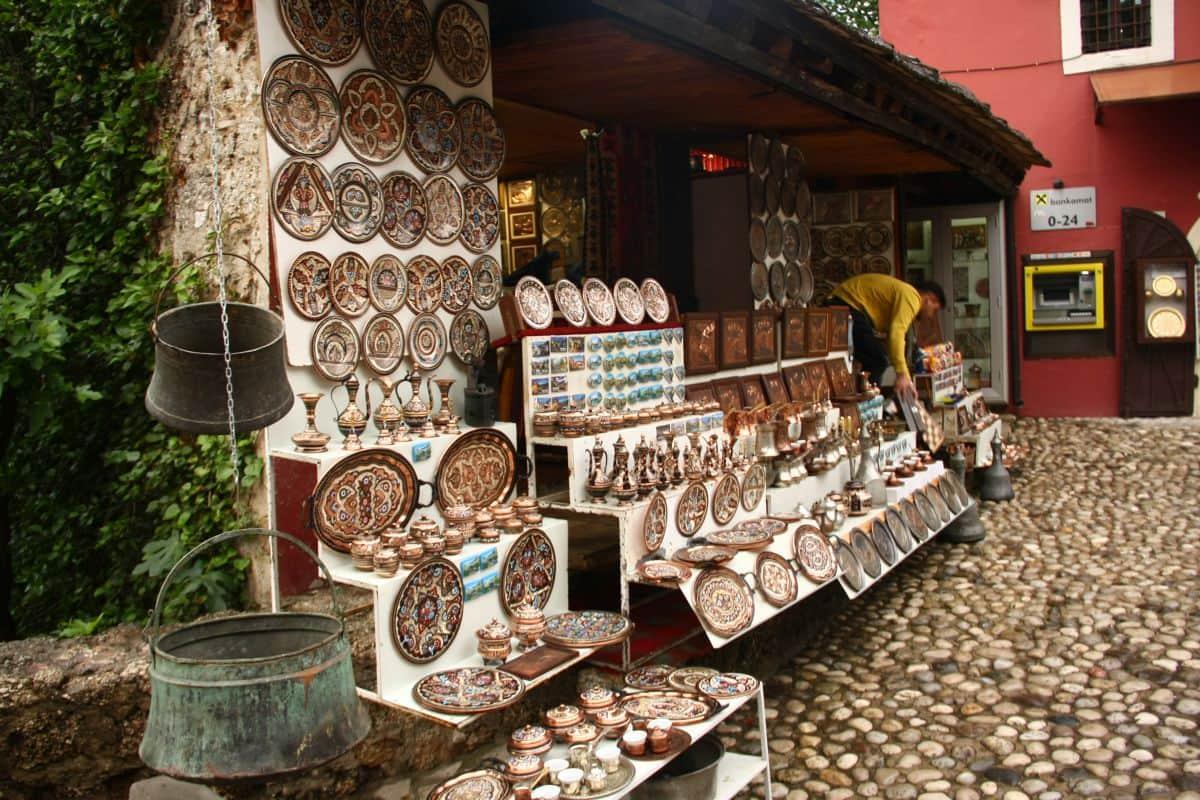 Der Bazaar von Mostar (2)