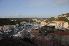 Blick auf den Hafen von Bonifacio