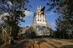"""Die """"Chicken-Church"""" in Borobodur sollte man sich ebenfalls nicht entgehen lassen"""