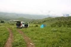 Zelten nahe Gjirokaster