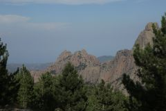Gebirgspass im Col de Pavella