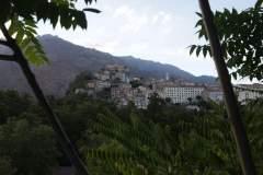 Blick auf die Altstadt Cortes