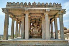 Sasivekalu Ganesha Tempel in Hampi