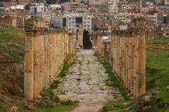 Collonaded Street in Jerash