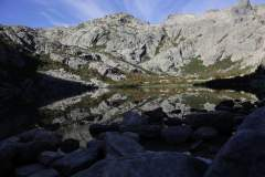 Lac de Melo vor Sonnenaufgang