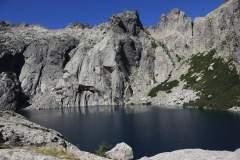 Blick auf den Lac de Capitello