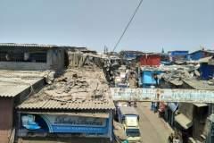 Dharavi-Slum von oben