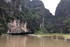 Bootsfahrt in Ninh Binh