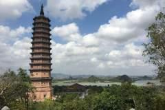 Aussicht von der Bai Dinh Pagode