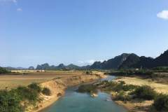Ausblick in Ninh Binh