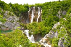 Einer der großen Wasserfälle