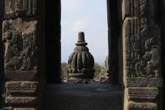 Egal aus welchem Blickwinkel. die Tempelanlage Prambanan ist in jedem Fall ein Besuch wert.