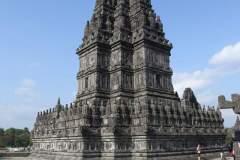 Nahaufnahme eines einzelnen Tempels