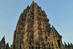 Nahaufnahme eines Tempels