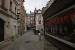 Kleine Gässchen in Rouen