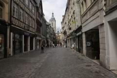 Die Innenstadt von Rouen