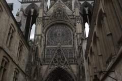 Seitenfeingang zur Kathedrale von Rouen