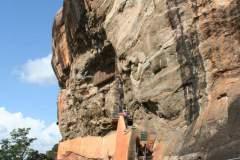 Aufstieg zur Felsenfestung