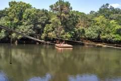 Floss auf dem Kabini River