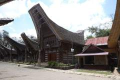 Traditionelles Tongkonan Haus in Tana Toraja