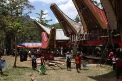 Beerdigungszeremonie in Tana Toraja