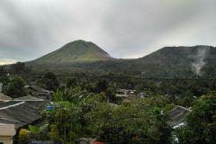 Blick auf den Mount Lukon