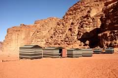 Beduinen-Camp in Wadi Rum