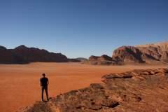 Aussicht  in Wadi Rum