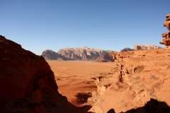 Canyon in Wadi Rum