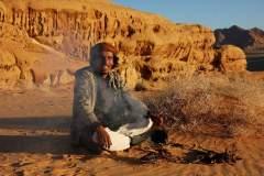 Lagerfeuer mit Beduinen