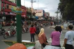 Die geschäftige Malioboro-Street