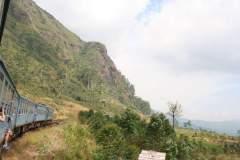 Fahrt durch das Hochgebirge