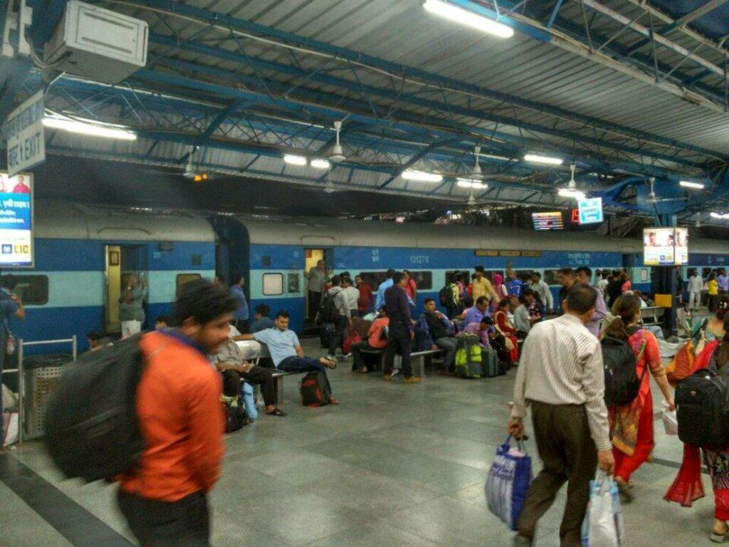 Bahnhof in Indien